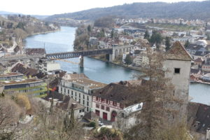"On the road in the ""Ländle"" – Schaffhausen, Rhine Falls"